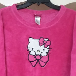 Hello Kitty Pajama Top XL/16-18